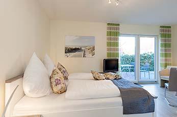 Doppelzimmer<br>mit Terrasse